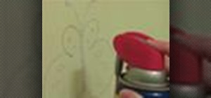 Clean crayon marks off of painted walls