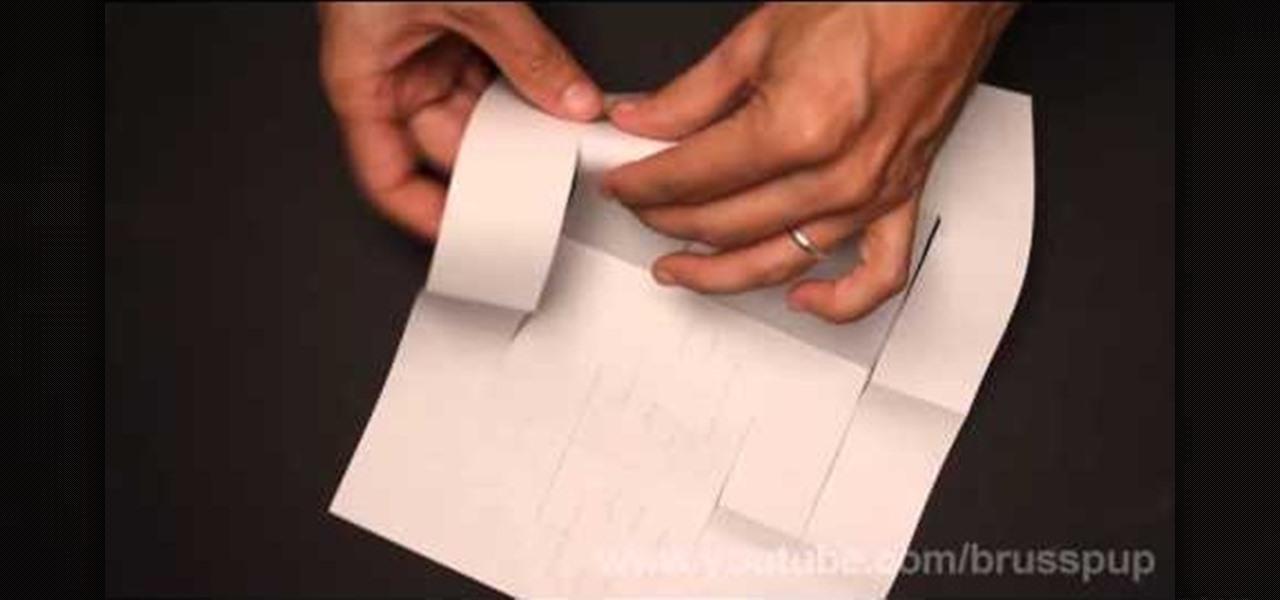 How To Make An Origami Bridge