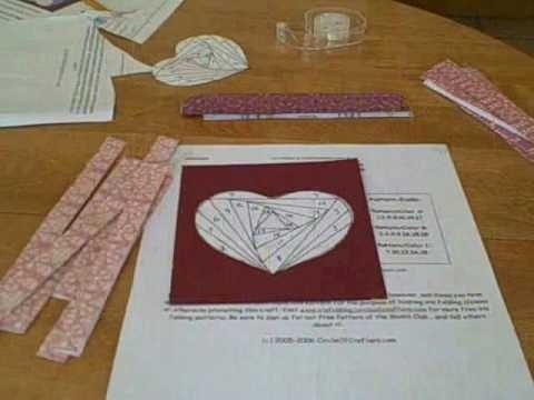how to make envelope out of heart shaped paper youtube