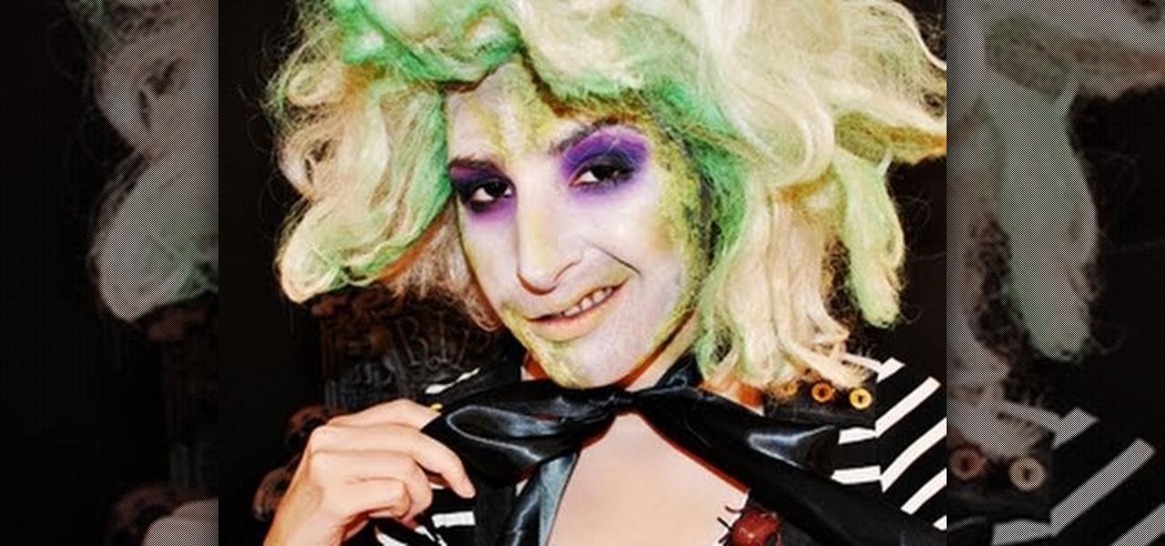 How To Create A Rotting Beetlejuice Makeup Look For Halloween Makeup Wonderhowto