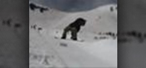 Perform a frontside 720 on a snowboard