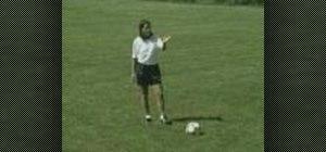 Practice bending pass soccer drills