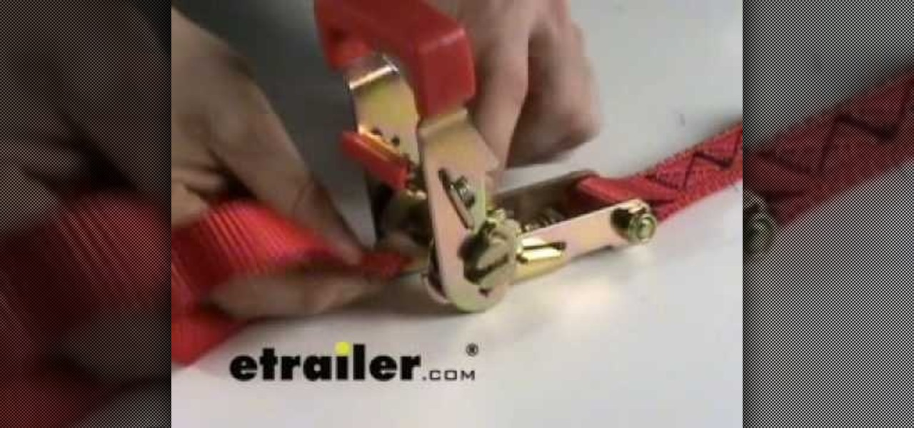 How To Use Ratchet Tie Down Straps Driving Amp Safety