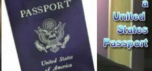 Renew a US passport