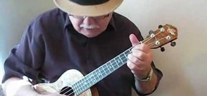 "Play ""Tonight You Belong to Me"" on the ukulele"