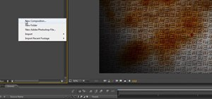 Create a rusty, grungy checker plate texture in After Effects