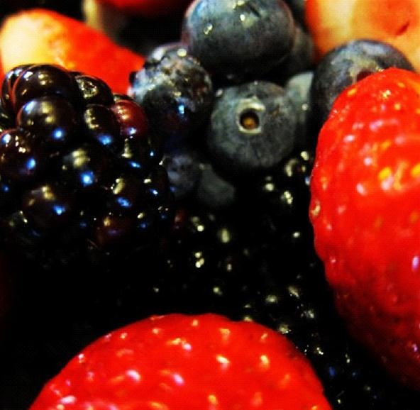 Vibrant Color Photography Challenge: Bright Berries