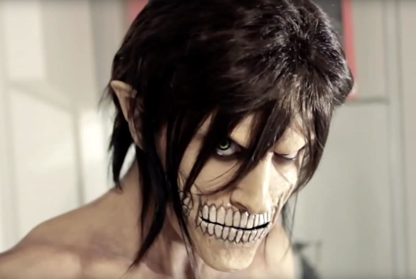 attack on titan diy eren jaeger makeup effects for