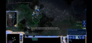 Echoes of the Future in StarCraft 2 single-player campaign