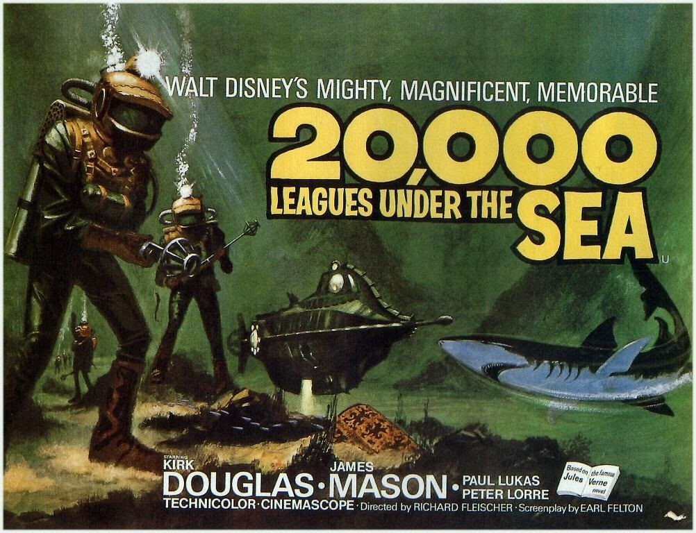 Why Disney's 20,000 Leagues Under the Sea Is NOT Steampunk