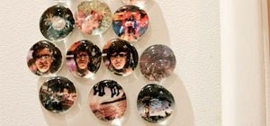 Make Marble Photo Magnets