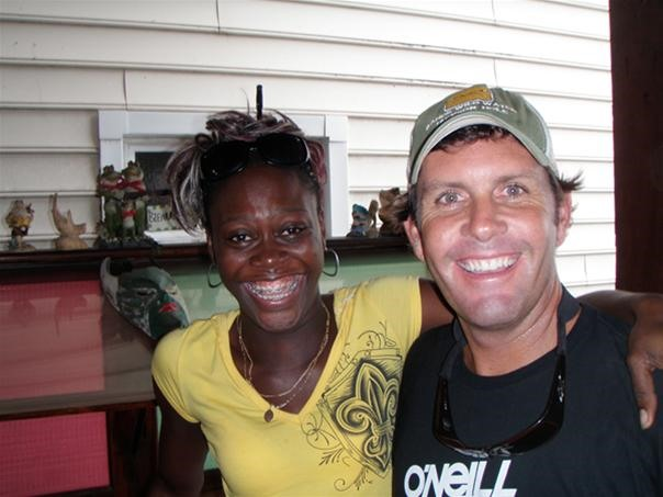 Scotty, owner of red frog bungalows