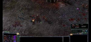 Surround tougher units with Zerg Zerglings in StarCraft 2