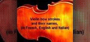 Improve your violin bowing technique