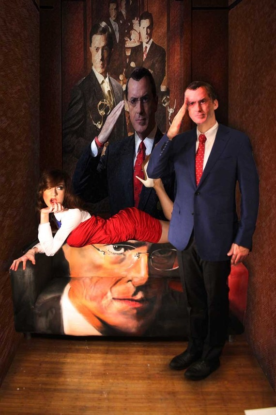 Sitting On Stephen Colbert's Face