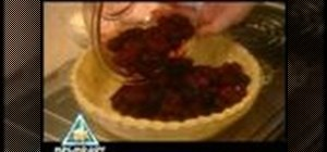 Bake a homemade blackberry pie