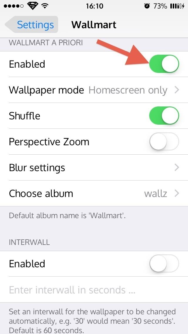 How to Cycle Through All of Your iPhones Wallpapers Automatically « iOS Gadget Hacks