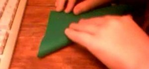 Make an origami box with sections and lid