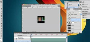 Manipulate text within animated GIFs in Photoshop CS4