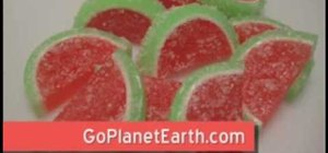 Make melt and pour sea salted watermelon taffy soaps