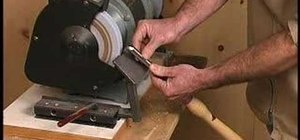 Sharpen woodworking tools