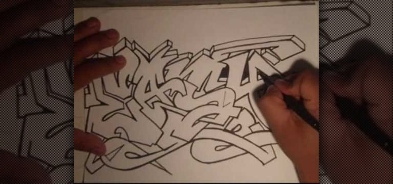 Gallery For gt Graffiti Drawings On Paper Easy
