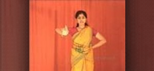 "Perform ""Natta Adavu"" in Indian Bharatanatyam dance"
