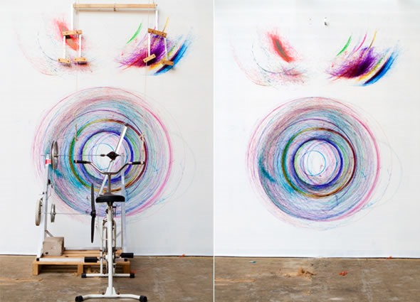 HowTo: Draw With a Bicycle