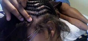 Sew in a weave