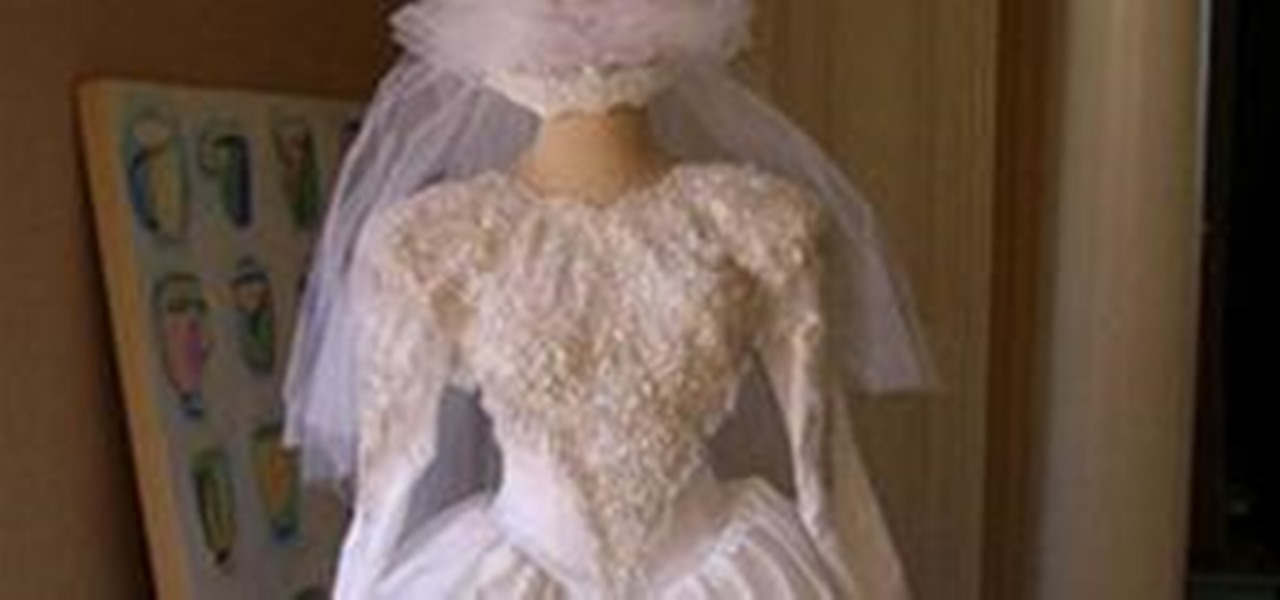 15 ways to repurpose your Mom\'s gown « Budget Weddings :: WonderHowTo