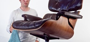 Disassemble the Eames lounge chair