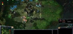 Use Protoss Warp Prisms and Warp Gates to harass enemies in StarCraft 2