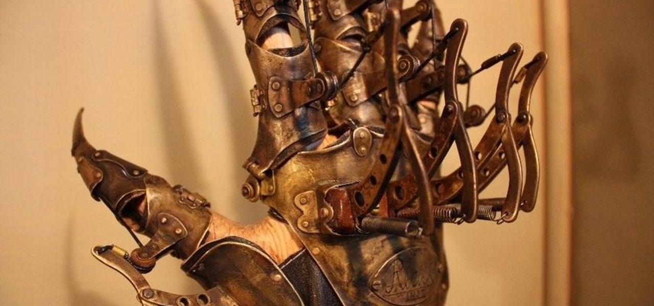 Amazing Steampunk Claw Glove