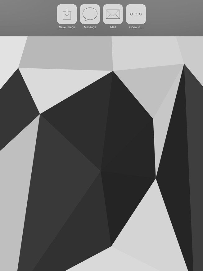 How to Create Your Own Abstract, Polygon-Shaped Wallpapers for Your iPad or iPhone