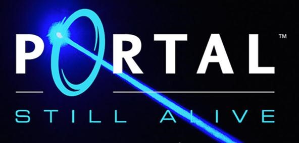 "Fiber Laser Scores Aperture Logo in Steel While Playing Portal's ""Still Alive"" Theme Song"