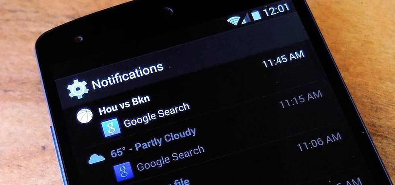 how to clear search history in nexus 5