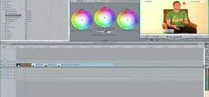 Match color hue in Final Cut Pro