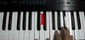"Play ""As the Deer"" on piano"