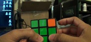 Solve a 3x3x4 Rubik's Cube