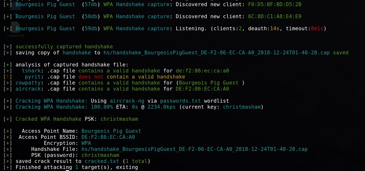 Automate Wi-Fi Hacking with Wifite2