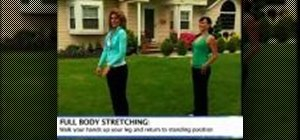 Do a full body pre-workout stretch with Woman's Day Magazine