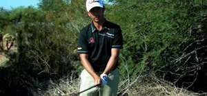 Use a golf tee to find the perfect grip pressure