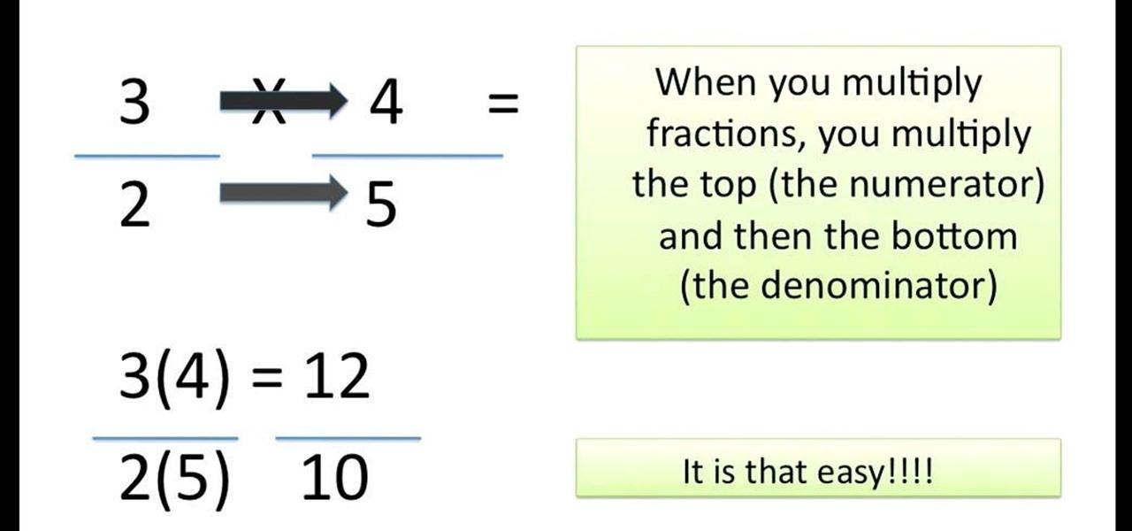 multiply fractions easily