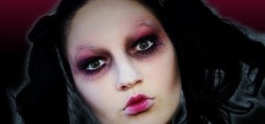 Create a creepy dead doll makeup look for Halloween