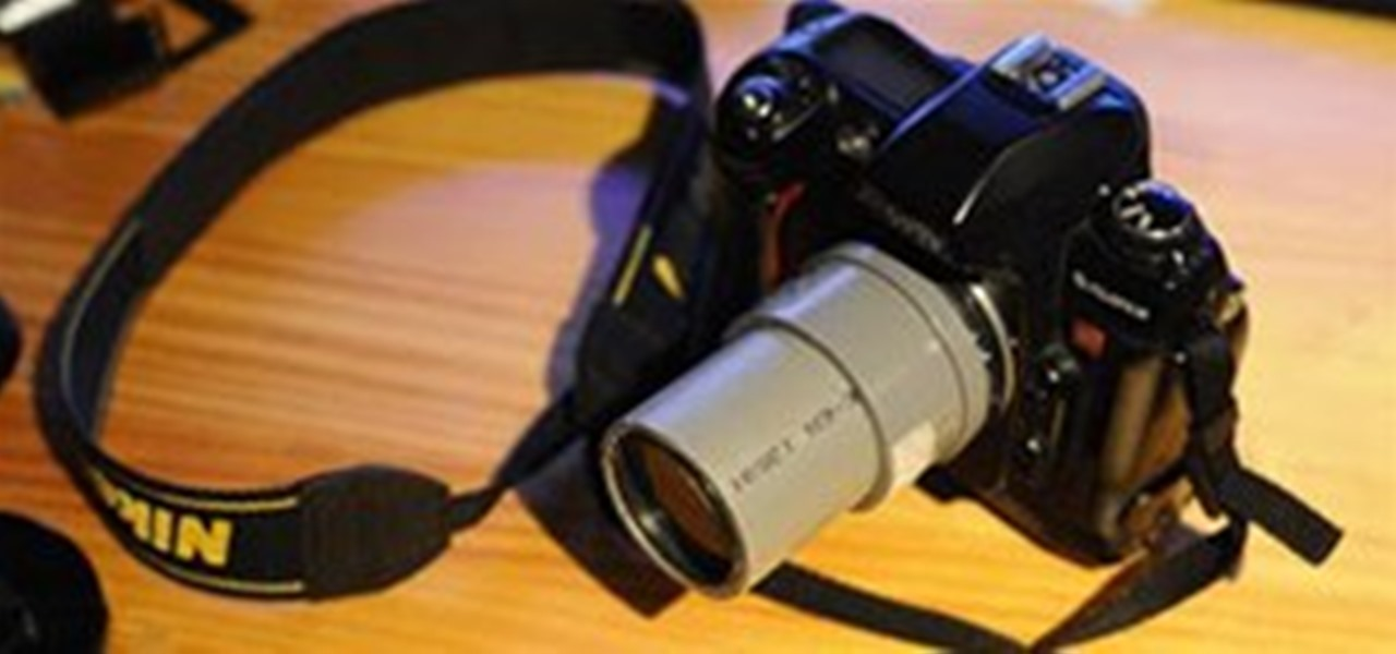 Pvc Pipe Camera : How to create a manual camera lens with pvc pipe «