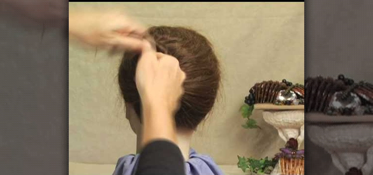 How to French Twist Hair Hair in a French Twist