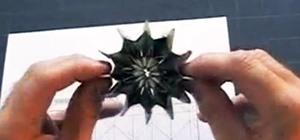Fold Origami Fireworks from Dollar Bills