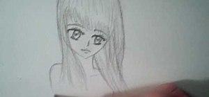 Draw a manga/anime angel