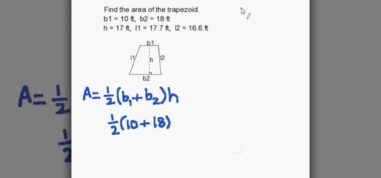 How To Find The Area Of A Trapezoid Quickly Math