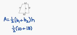 Find the area of a trapezoid quickly